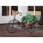 BICYCLE PLANT STAND - LAWN & GARDEN