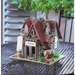 COTTAGE WINERY BIRDHOUSE - LAWN & GARDEN