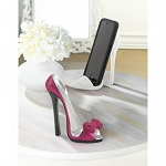 PINK BOW SHOE PHONE HOLDER
